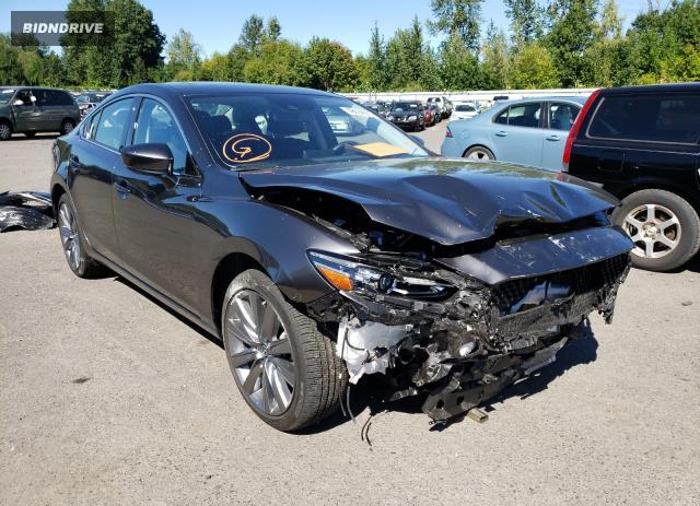Lot #1625383789 2020 MAZDA 6 GRAND TO salvage car