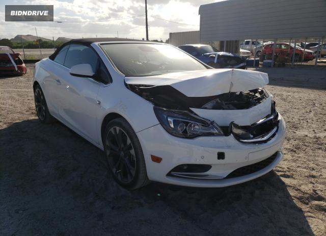 Lot #1628650973 2016 BUICK CASCADA PR salvage car