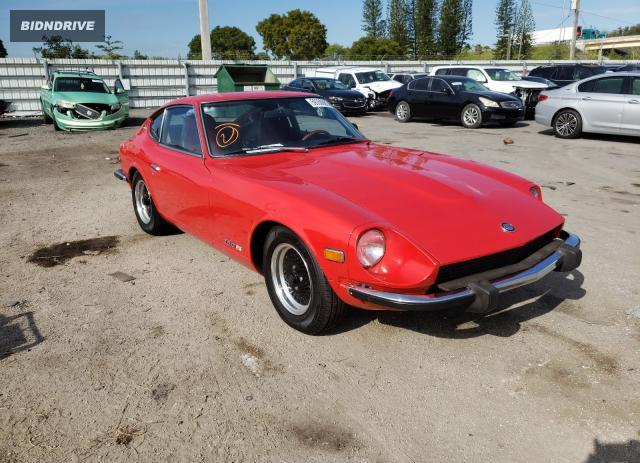 Lot #1629597716 1974 DATSUN 260Z salvage car