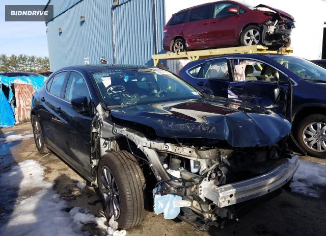 Lot #1632772056 2020 ACURA TLX salvage car