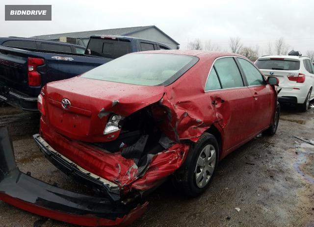 Lot #1633173913 2009 TOYOTA CAMRY BASE salvage car