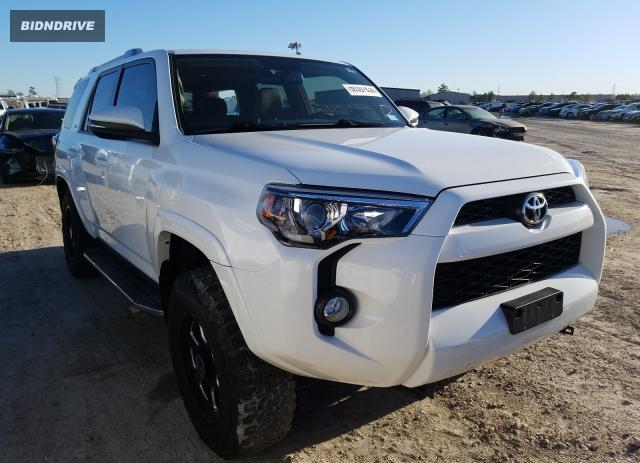 Lot #1633188803 2018 TOYOTA 4RUNNER SR salvage car