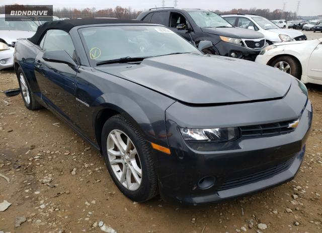 Lot #1633193699 2015 CHEVROLET CAMARO LT salvage car