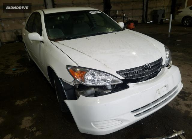 Lot #1635701716 2002 TOYOTA CAMRY LE salvage car