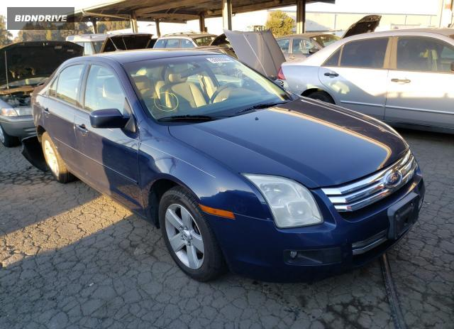 Lot #1636038166 2007 FORD FUSION SE salvage car