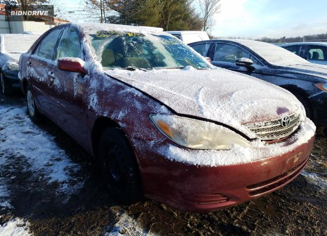 Lot #1636096933 2003 TOYOTA CAMRY salvage car