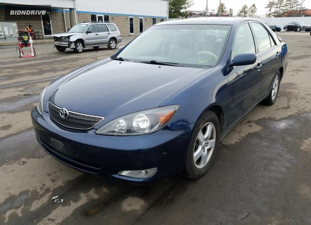 Lot #1636096936 2002 TOYOTA CAMRY LE salvage car