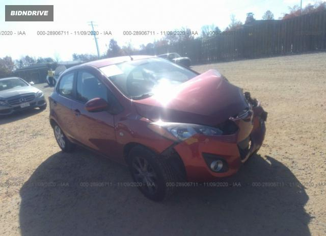 Lot #1636468019 2014 MAZDA MAZDA2 TOURING salvage car