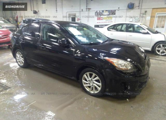 Lot #1636468173 2012 MAZDA MAZDA3 I TOURING salvage car