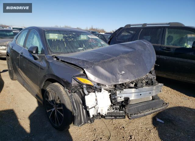 Lot #1636487003 2020 TOYOTA CAMRY SE salvage car