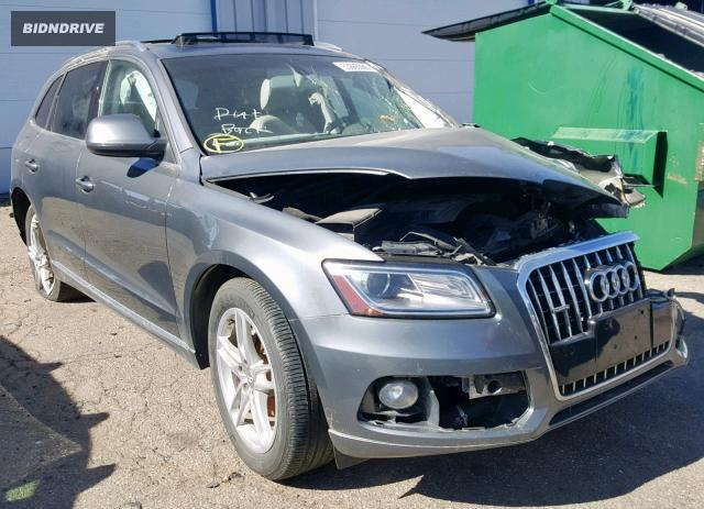 Lot #1636502129 2015 AUDI Q5 PREMIUM salvage car
