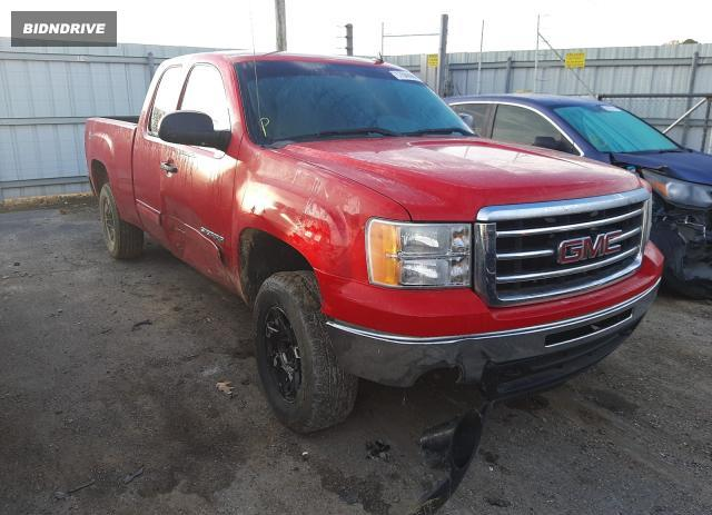 Lot #1637076303 2012 GMC SIERRA K15 salvage car