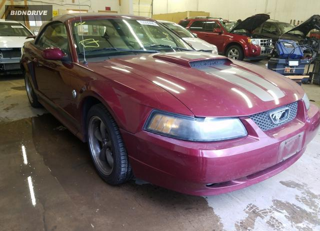 Lot #1637096606 2004 FORD MUSTANG salvage car
