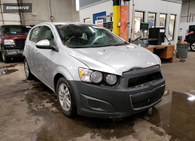 Lot #1637465366 2012 CHEVROLET SONIC LS salvage car