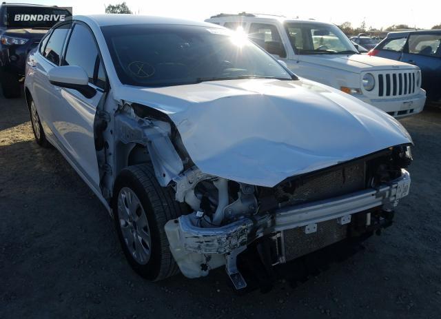 Lot #1637607009 2019 FORD FUSION S salvage car