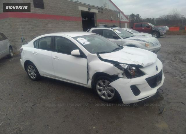Lot #1637930189 2013 MAZDA MAZDA3 I SPORT salvage car