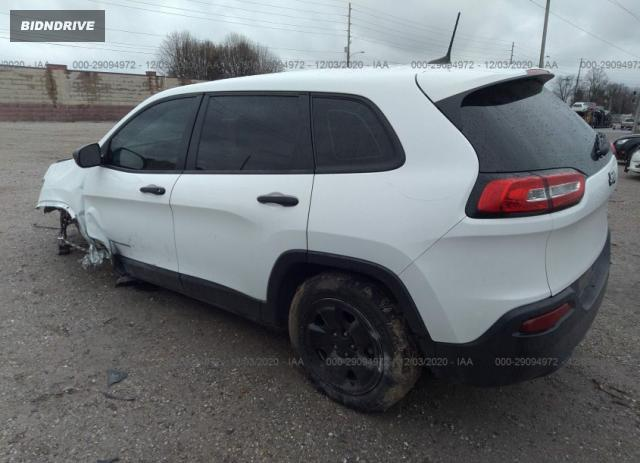 Lot #1638446613 2016 JEEP CHEROKEE SPORT salvage car