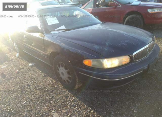 Lot #1638925439 1998 BUICK CENTURY CUSTOM salvage car