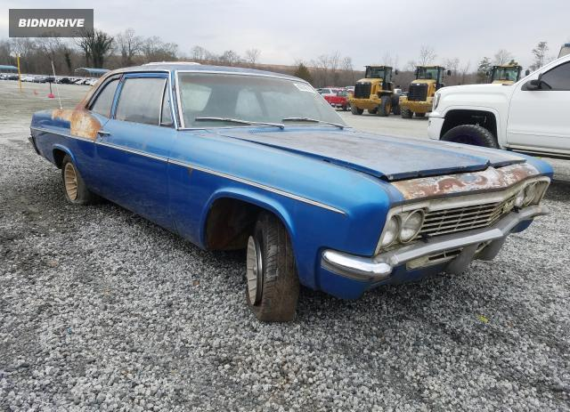 Lot #1639162239 1966 CHEVROLET BELAIR salvage car