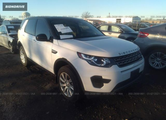 Lot #1639485326 2016 LAND ROVER DISCOVERY SPORT SE salvage car