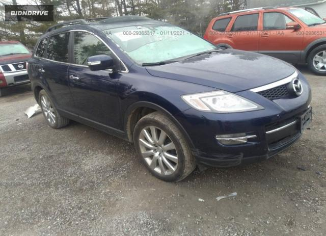 Lot #1639486736 2008 MAZDA CX-9 GRAND TOURING salvage car