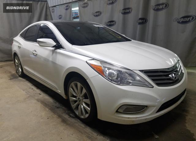 Lot #1639645826 2014 HYUNDAI AZERA GLS salvage car