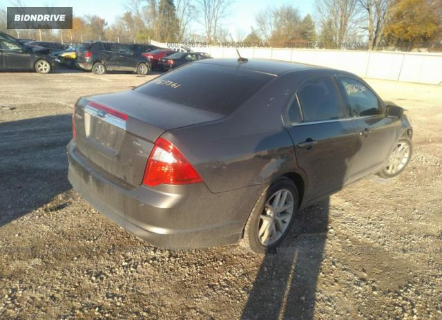 Lot #1639962379 2012 FORD FUSION SEL salvage car