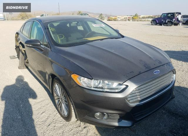 Lot #1640029659 2016 FORD FUSION SE salvage car