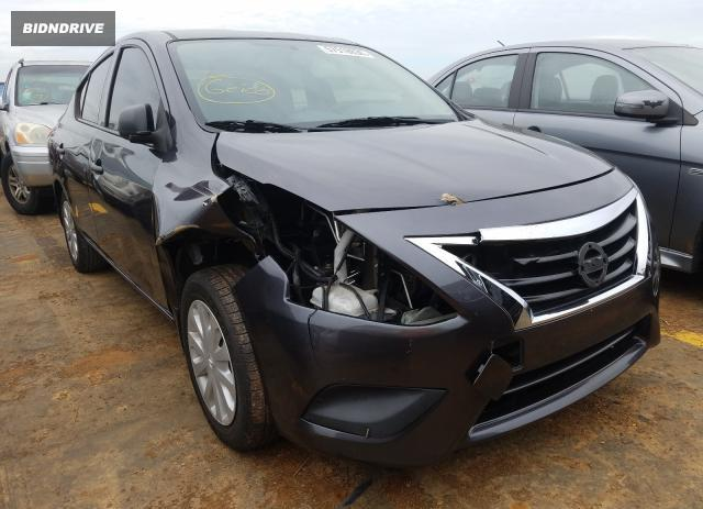 Lot #1640077079 2015 NISSAN VERSA S salvage car