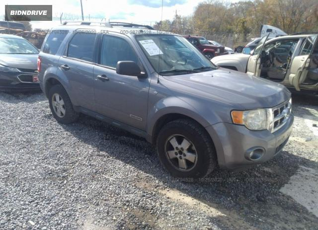 Lot #1640454163 2008 FORD ESCAPE XLT salvage car