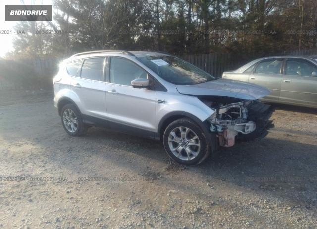 Lot #1640989536 2013 FORD ESCAPE SEL salvage car