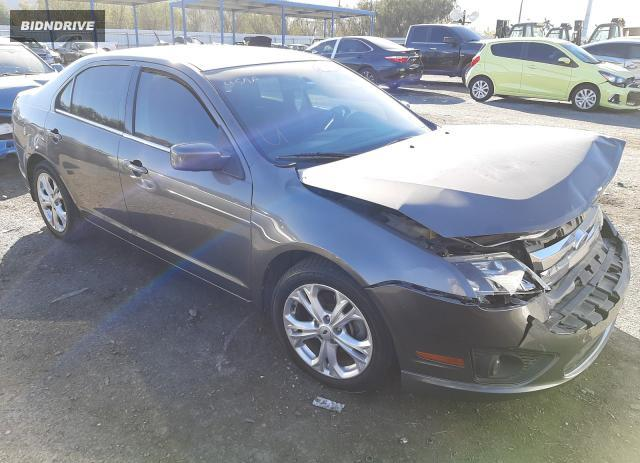Lot #1641048643 2012 FORD FUSION SE salvage car