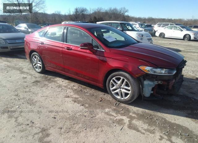 Lot #1641493899 2016 FORD FUSION SE salvage car