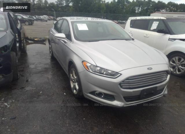 Lot #1641493999 2015 FORD FUSION SE salvage car