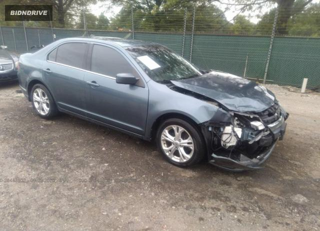 Lot #1641494193 2012 FORD FUSION SE salvage car