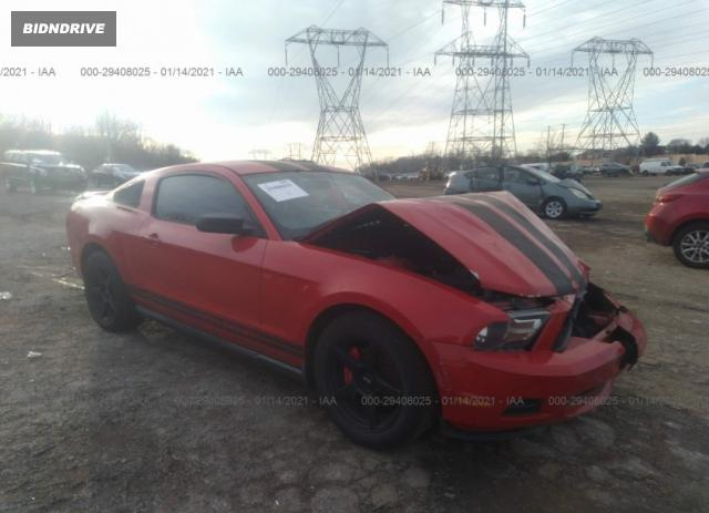 Lot #1641494716 2010 FORD MUSTANG V6 salvage car