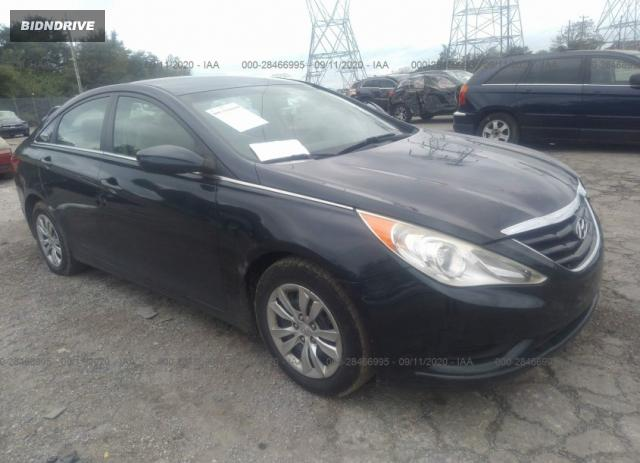 Lot #1641519226 2012 HYUNDAI SONATA GLS/2.4L SE salvage car