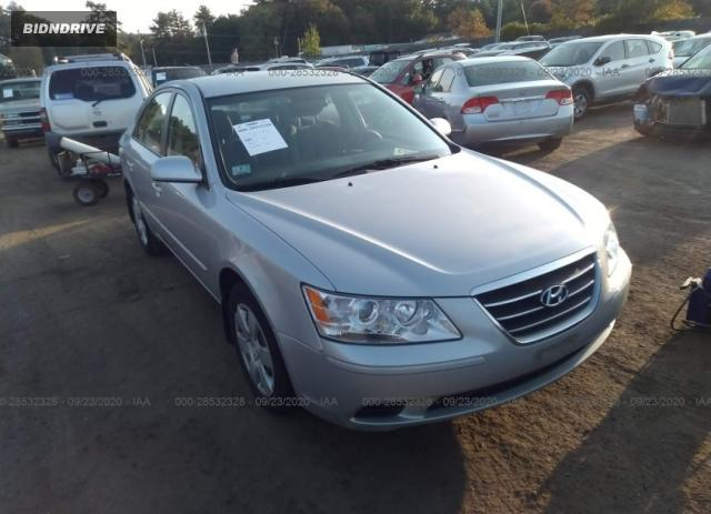 Lot #1641519356 2010 HYUNDAI SONATA GLS PZEV salvage car