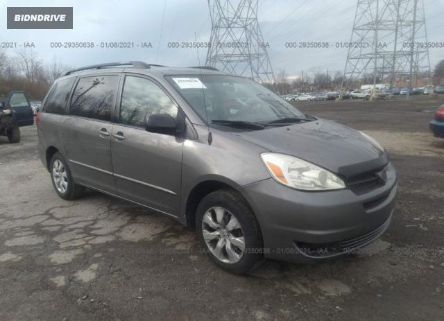 Lot #1641545599 2005 TOYOTA SIENNA CE/LE salvage car
