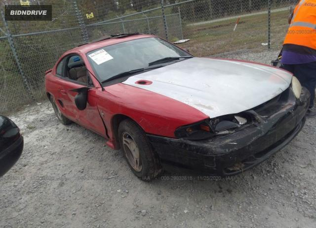 Lot #1643058053 1998 FORD MUSTANG salvage car