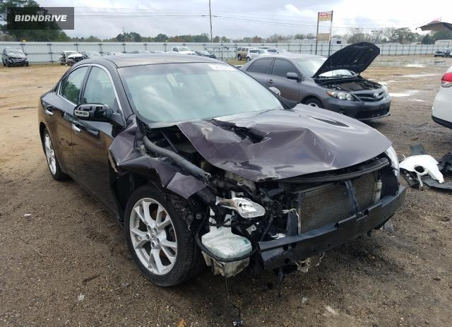 Lot #1648569446 2012 NISSAN MAXIMA S salvage car