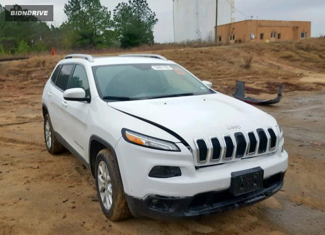 Lot #1654390689 2016 JEEP CHEROKEE L salvage car