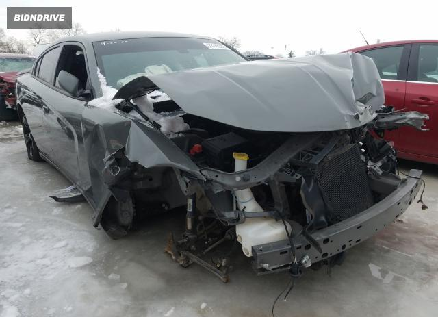 Lot #1655909419 2018 DODGE CHARGER SX salvage car