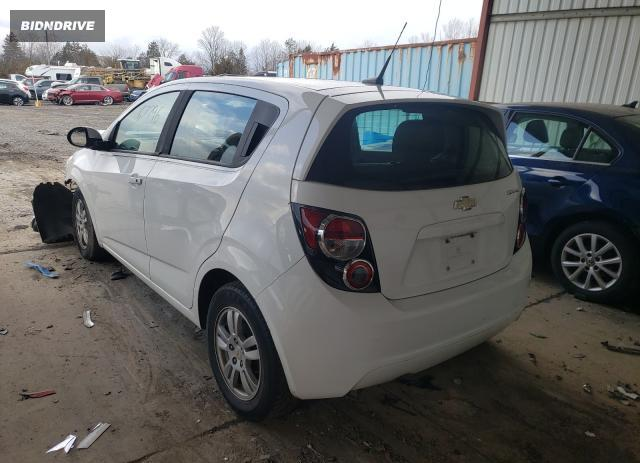Lot #1657378256 2012 CHEVROLET SONIC LS salvage car