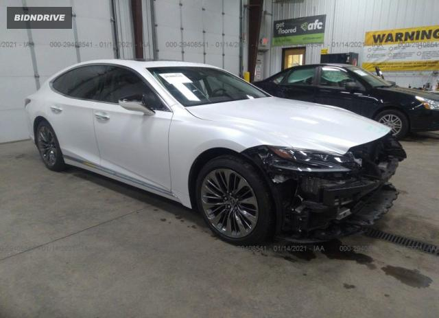 Lot #1657775183 2020 LEXUS LS LS 500 salvage car