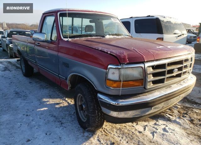 Lot #1657845103 1994 FORD F150 salvage car