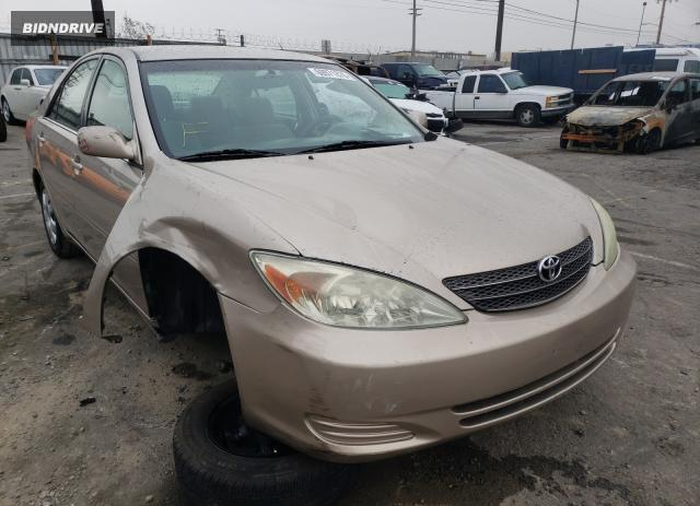 Lot #1657852686 2004 TOYOTA CAMRY LE salvage car