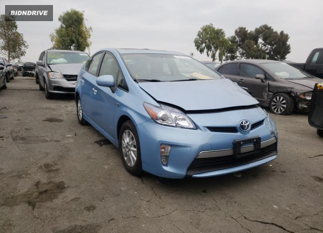 Lot #1657877496 2012 TOYOTA PRIUS PLUG salvage car