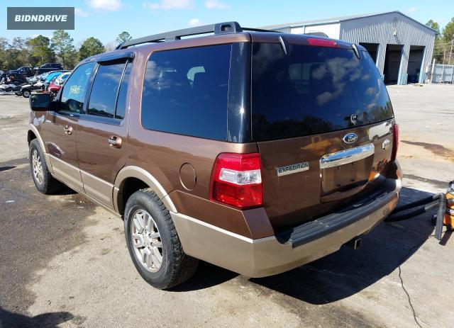 Lot #1658342433 2012 FORD EXPEDITION salvage car