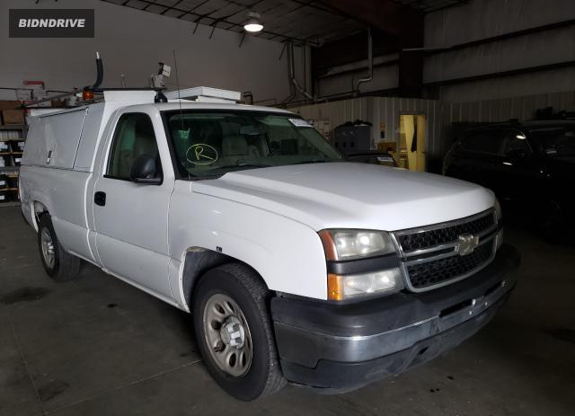 Lot #1658342503 2007 CHEVROLET SILVERADO salvage car